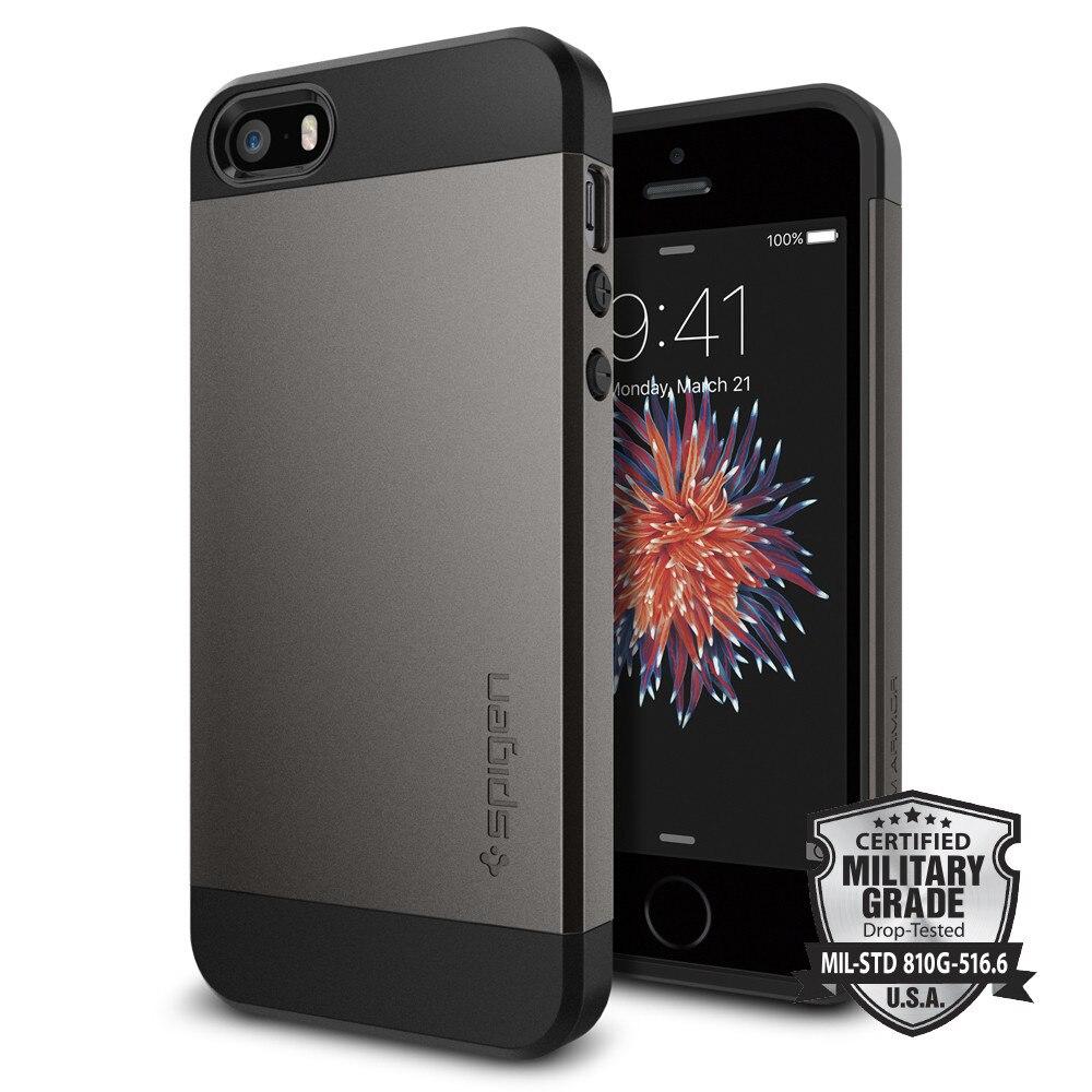 100% Original SPIGEN Slim Armor Cases for iPhone SE / 5S / 5100% Original SPIGEN Slim Armor Cases for iPhone SE / 5S / 5