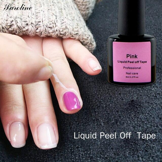 Saroline Peel Off Nail Glue Liquid Nail Art Skin Protected Vernis ...