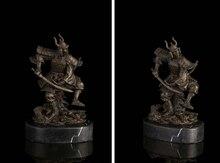 Art Deco Sculpture Japanese Samurai Bronze Statue Signed wholesale factory Bronze Arts outlets
