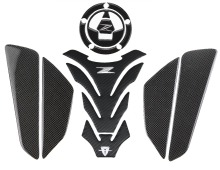 KODASKIN Carbon Tank Pad Sticker Decal emblem GRIPPER STOMP GRIPS EASY for KAWASAKI Z800 Z1000 Z750