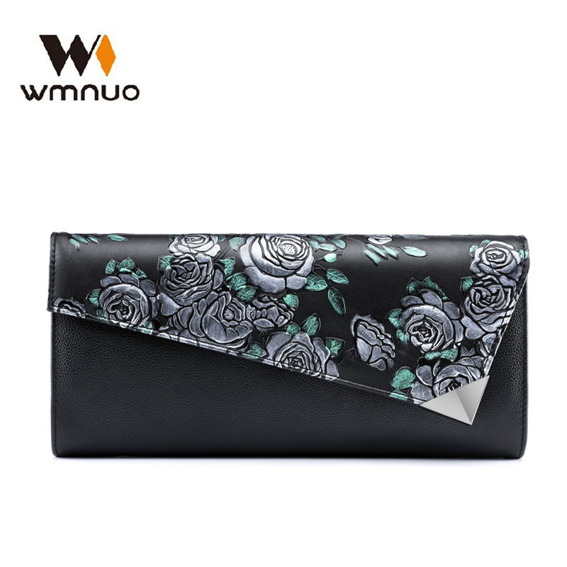 Wmnuo Women Shoulder Bag Women Handbag Cow Leather Fashion Ladies Evening Bag Crossbody Messenger Bag Female Clutch Wallet Purse недорго, оригинальная цена