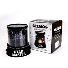 Hot Sale Colorful Sky Star Master Night Light Lovely Sky Starry Star Projector Novelty Gifts LED light Lamp High Qualit XK