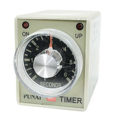 AH3-2 DC 24V 8 Pins DPDT 0-6 Seconds 6Sec Power on Delay Timer Time Relay сменный модуль для систем фильтрации воды гейзер 501 2 шт