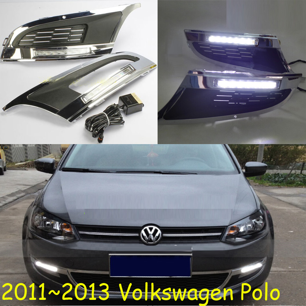 LED,2011~2016 Polo day Light,Polo fog light,Polo headlight,sharan,Golf7,routan,saveiro,polo,passat,Polo Taillight tiguan taillight 2017 2018year led free ship ouareg sharan golf7 routan saveiro polo passat magotan jetta vento tiguan rear lamp