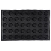 Subway demarle Silform Style Non stick Perforated Baking Mold for 4 Inch Buns 40 Molds silicone bread pan Muffin Pan