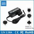 12 v 2.58a 36 w power adapter carregador para microsoft surface pro3 pro 3 eua/reino unido/ue/auplug escolher 1 em 4