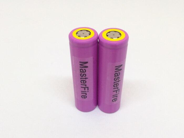 MasterFire 2PCS/LOT New Original Sanyo UR18650ZTA 3.7V 18650 3000mAh Rechargeable Battery Lithium Batteries Free Shipping