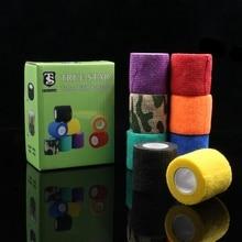 8PCS TRUE STAR Bandage Tattoo Grip Cover 2.5CM 8Colors Mixed Magic Bandage Grip Cover For Tattoo Grip Tubes