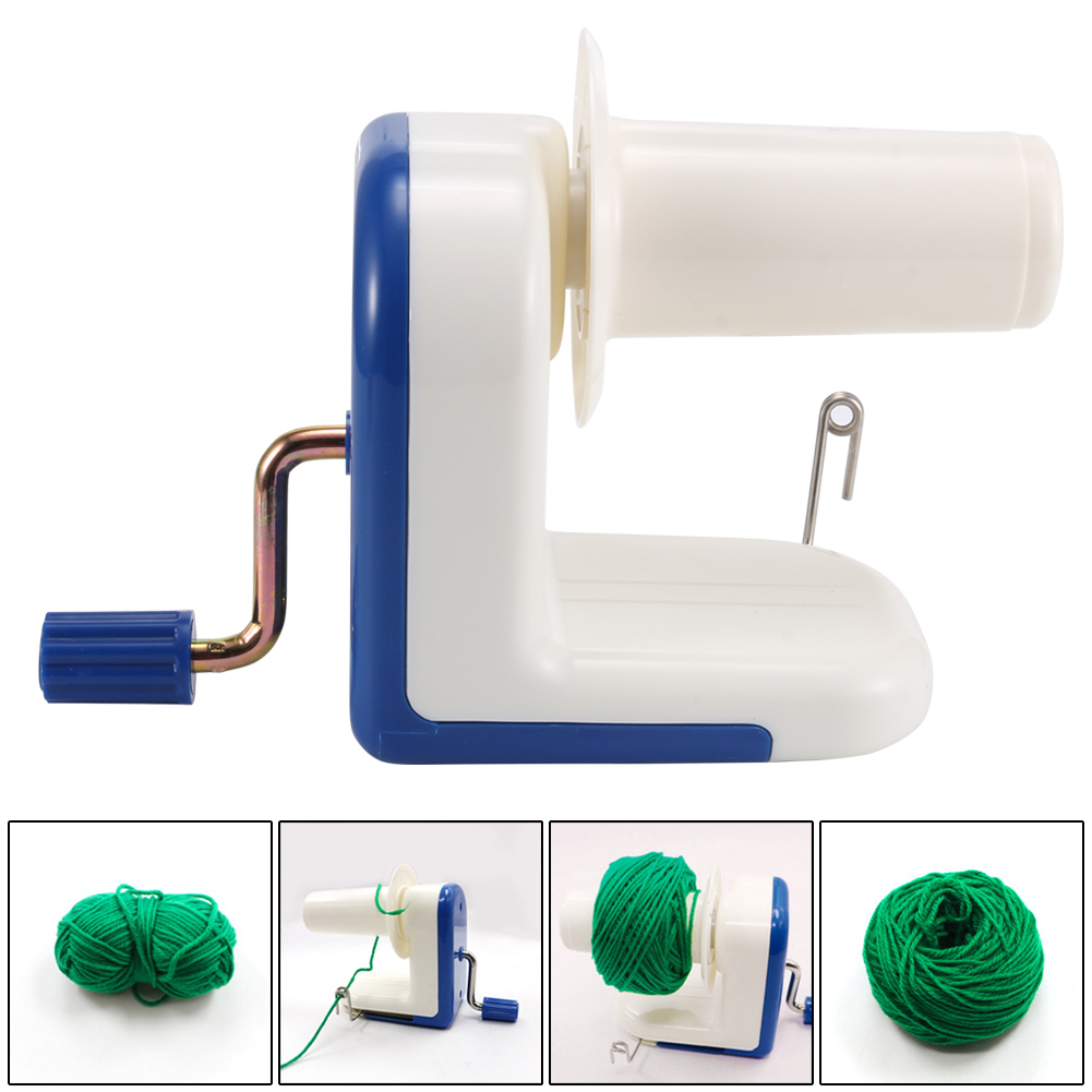 Swift Coiler For Yarn Fiber String Ball Wool Winder Holder Hand Operated Cable Winder Machine XHC88