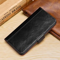 BuzzLee Genuine Leather Luxury Oil wax stitching Flip wallet Magnet Case for Huawei Mate 20 lite Mate 20 X w/ Phone Stand Cover