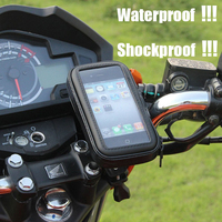 Motorcycle Phone Holder Mobile Phone Stand Support For IPhone 4 5S 6 Plus GPS Bike Holder