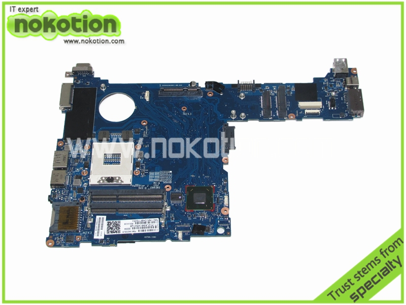 NOKOTION Laptop Motherboard for HP 2570P 685404-001 QM77-J8A DDR3 free shipping цена