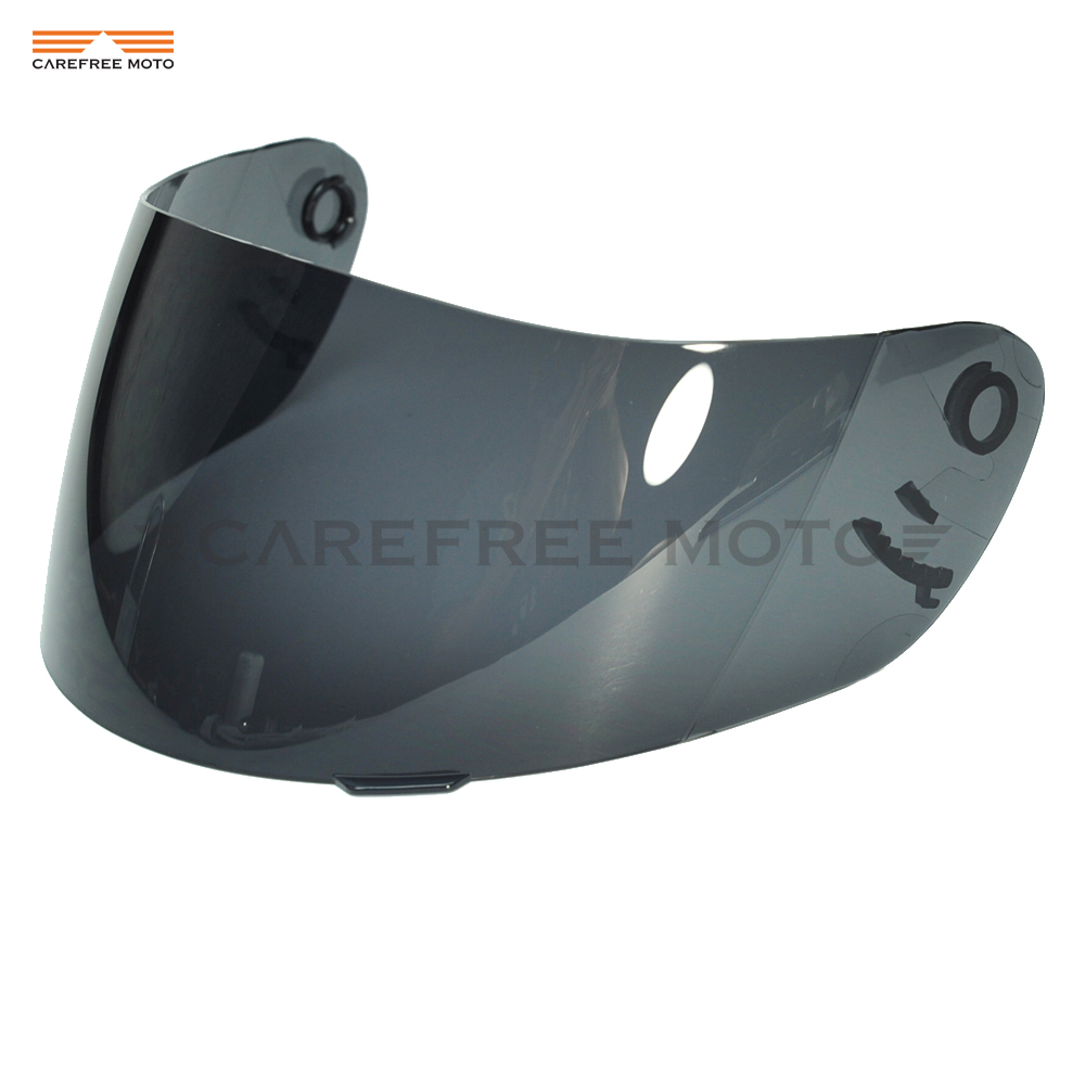 Dark Smoke Motorcycle Helmet Visor Lens Full Face Shield Case for SHOEI CX1 V X11 Raid
