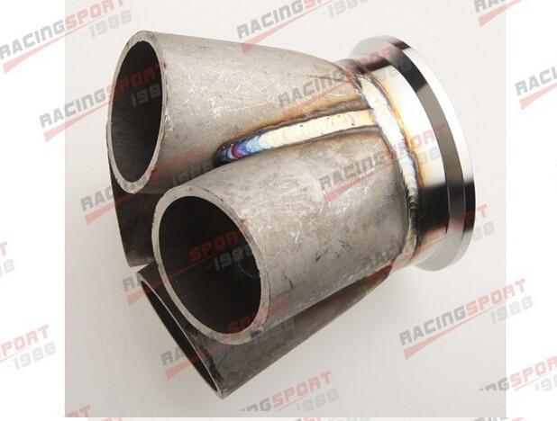 4-1 4 Cylinder Manifold Header Merge Collector Stainless Steel 2.5