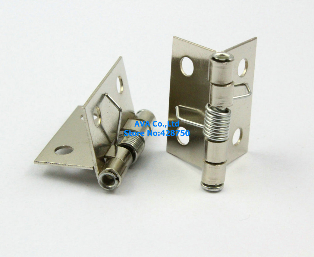 40 Small Automatic Closed Jewelry Box Hinge Spring Loaded Hinge 24mm