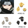 Lychee New Fashion Men Women Unisex titanium steel Japanese Anime Naruto stud earrings