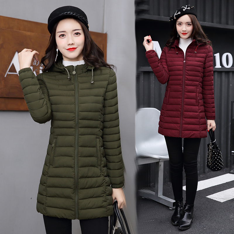 цены 2017 winter jacket women coat parka manteau femme womens jackets and coats big size parkas for Warm casacos de inverno feminino