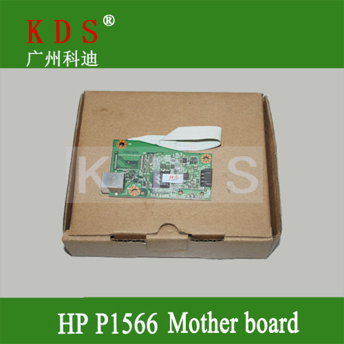 ФОТО Original mother board forHP P1566 formatter board main board for laser printer parts CE672-60001  remove from new machine