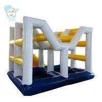 Гигантский надувной водный парк Каус комплект забавная игрушка пляжные Одежда заплыва веселые игры настроить