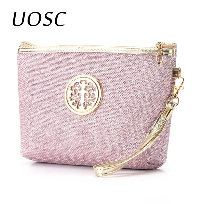 UOSC Case Pouch Cosmetic-Bag Toiletry-Organizer Neceser Storage-Wash Travel Women Fashion
