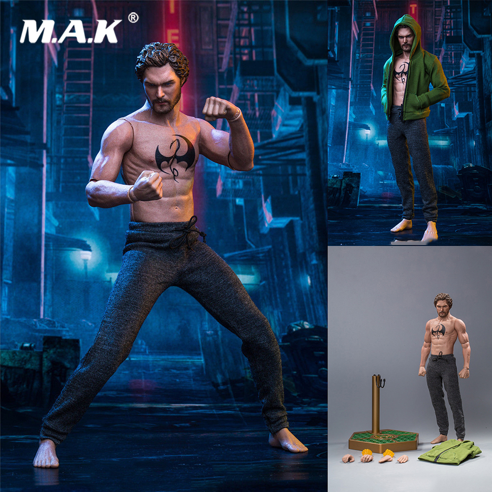 For Collection 1/6 Scale Full Set SST-008 Iron Fist Danny Rand Movie Series Figure Model for Fans Holiday Gift for collection 1 6 full set series of empires japan s date masamune deluxe figure model se009 warring states model for fans gift