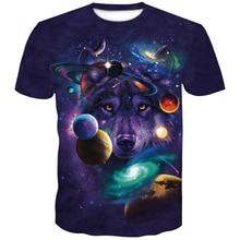 2019 Newest Wolf 3D Print Animal Cool Funny T-Shirt Men Short Sleeve Summer Tops T Shirt Fashion Tshirt Male man big size 4XL цены