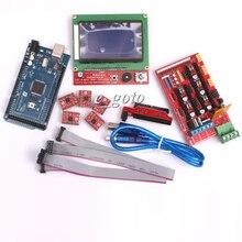 RAMPS 1 4 Mega2560 R3 Kit LCD12864 A4988 Motor Driver Reprap font b 3D b font