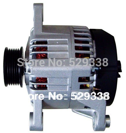 New Alternator 63321227 46420966 0986046480 for FIAT PALIO Weekend 1.7 <font><b>TD</b></font> image