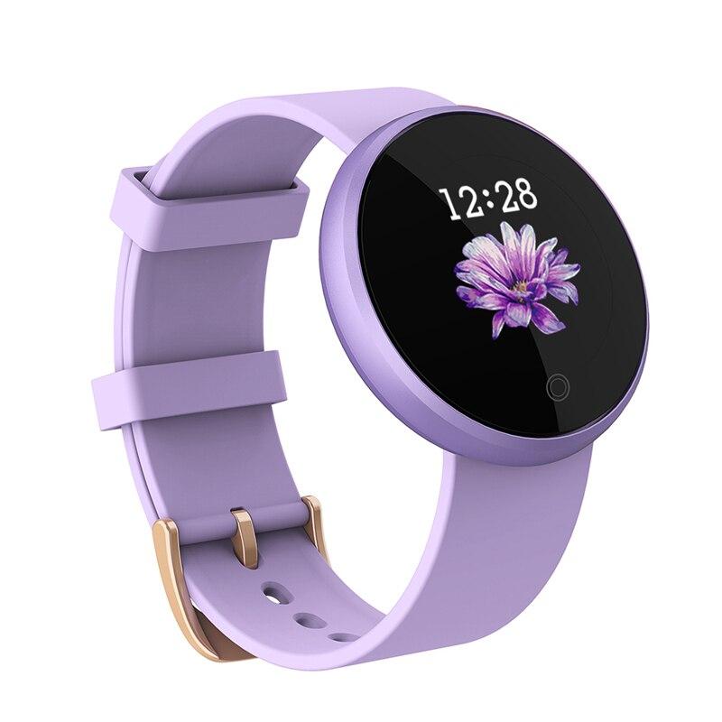 Saatler'ten Kadın Saatleri'de SKMEI B36 Kadınlar Yeni Akıllı 12 dil dijital saat Kadın Rus Hatırlatma Kalp Hızı Saatler Kalori Adım Güzellik Kol Saati'da  Grup 1
