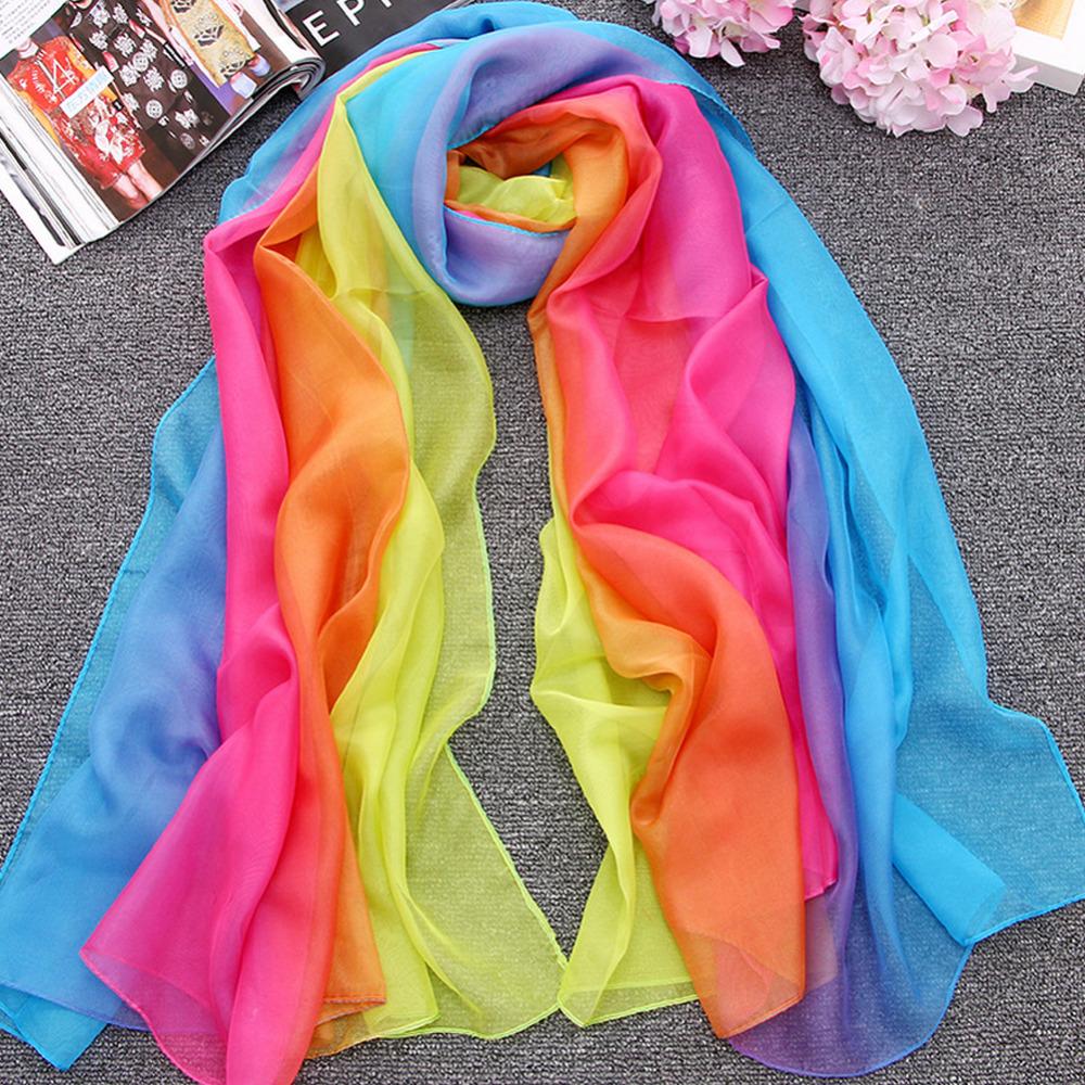 nueva llegada de lujo de las de colores del arco iris suave