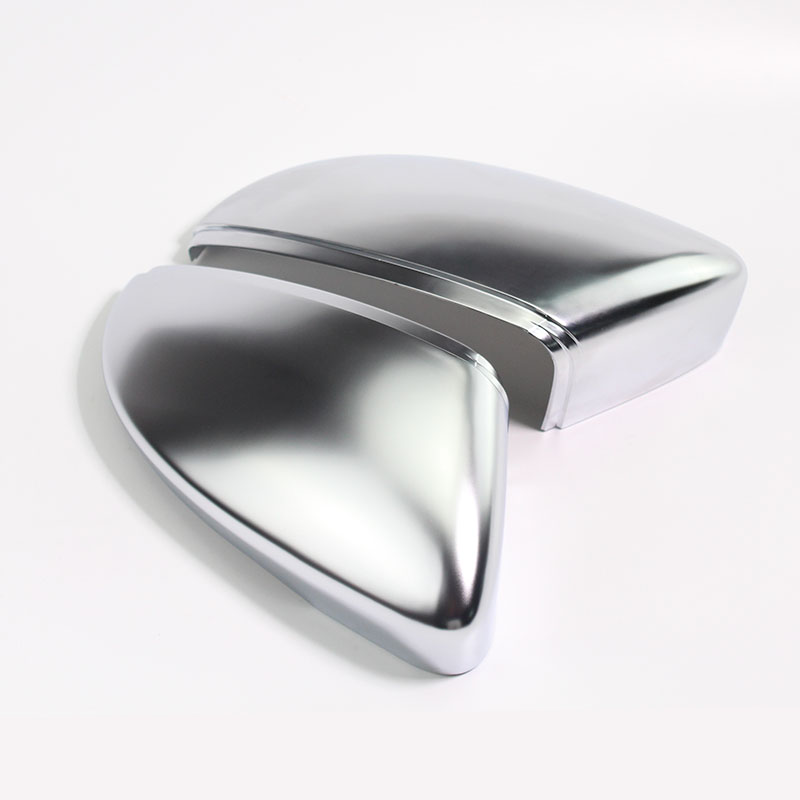 цена на Matt Chrome Mirror Cover replace For VW Passat B7 CC Jetta MK6 Beetle Rearview Side Mirror Cap Housing