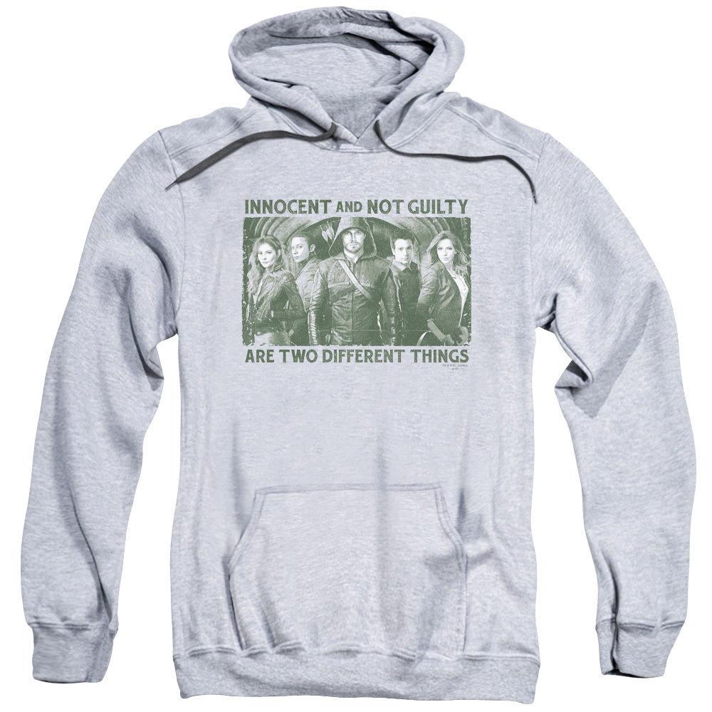 Arrow TV Show INNOCENT AND NOT GUILTY Licensed Sweatshirt Hoodie