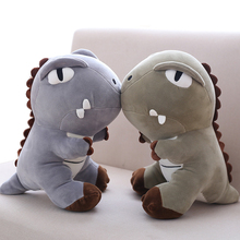 1pc 35/45 / 55cm Χαριτωμένο cartoon dinosaur κούκλα μαξιλάρι βελούδινο παιχνίδι δεινόσαυρος παιχνίδι σαύρα μαλακά και άνετα δώρα Χριστουγέννων για παιδιά