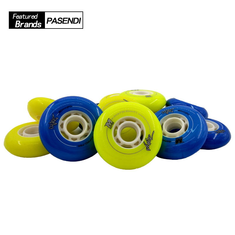 Adults Professional Patins Roller Speed Skating High Quality Womens Mens Inline Skate Slalom Wheels 72mm 76mm