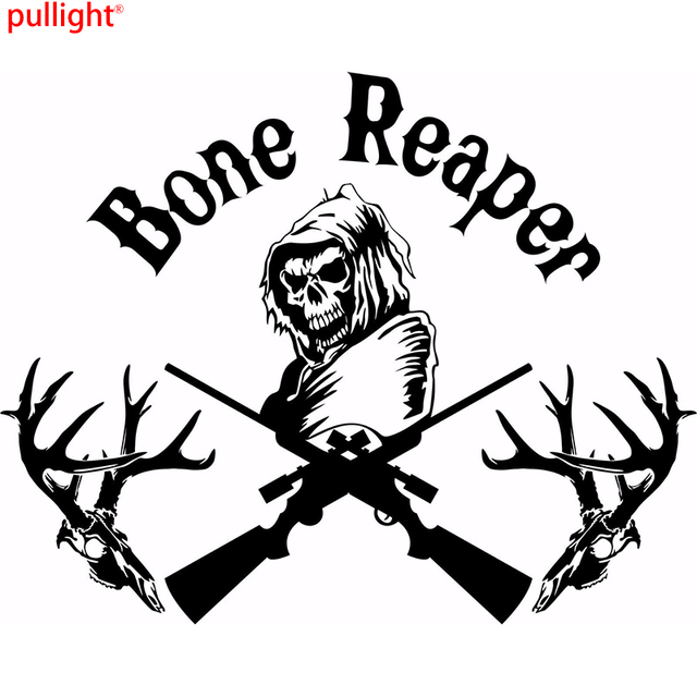 Reaper Truck For Sale >> QuotMericaquot Car Truck Window Sticker Auto Decal New White Vinyl Gun