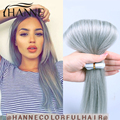 7а дымно-серый ленточное наращивание волос Индийский реми ленточное наращивание волос 20 шт. оптовая уток кожи ленты в человеческих волос расширения