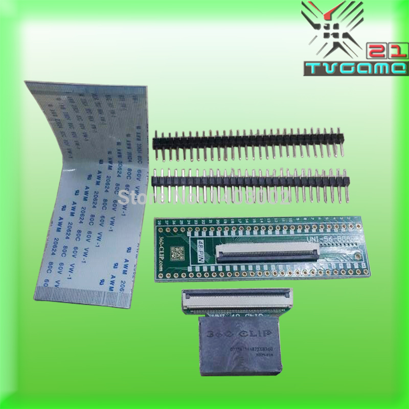 Hot selling 48pin universal 360 clip tsop nand flasher for ps3 for xbox 360 original