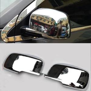 Хромированная ABS Автомобильная крышка зеркала заднего вида крышка отделка Стайлинг для Dodge Journey 2009-2018 для Fiat Freemont 2012-2018