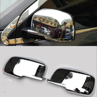 Chrome ABS Car Rear View Mirror Cover Cap Trim Styling For Dodge Journey 2009 2018 For Fiat Freemont 2012 2018