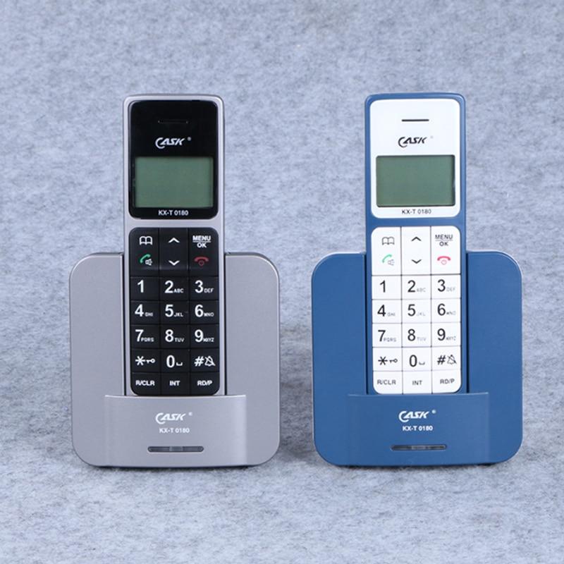 Wireless Phone Telefone Russian English Spain Language Fixed Telephones With Call ID Handsfree Wireless Fixed Phone