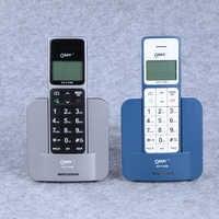 Drahtlose Telefon Telefone Russische Englisch Spanien Sprache Feste Telefone Mit Call ID Freisprecheinrichtung Drahtlose Fest Telefon Für Home