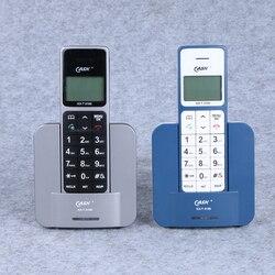 Telefone sem fio telefone russo inglês espanha língua telefones fixos com id de chamada handsfree telefone fixo sem fio para casa