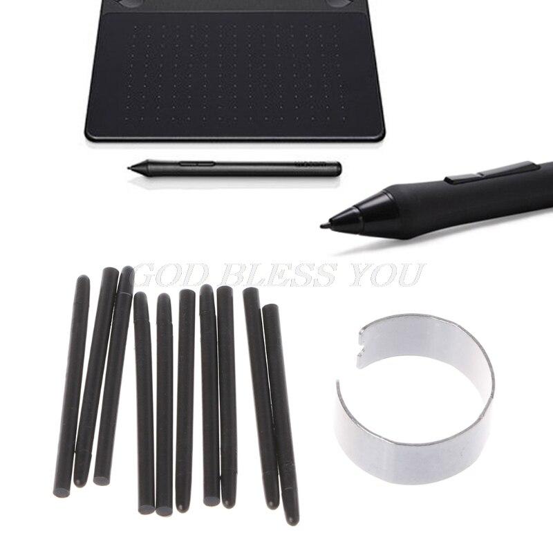10 Pcs Grafik Zeichnung Pad Standard Stift Schreibfedern Stylus Für Wacom Zeichnung Stift