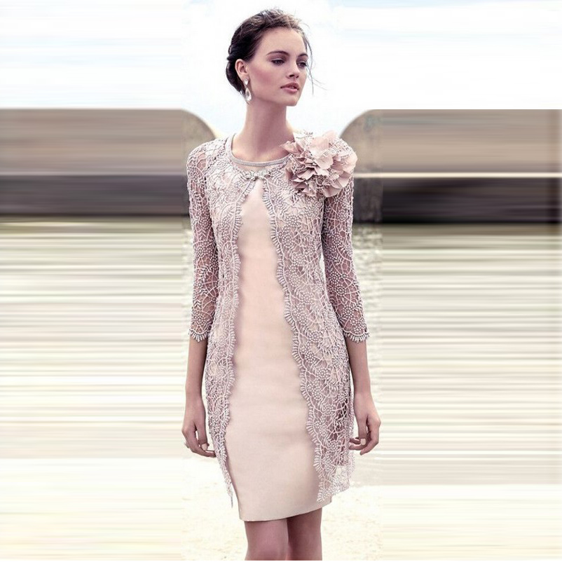 Элегантные вечерние короткие платье