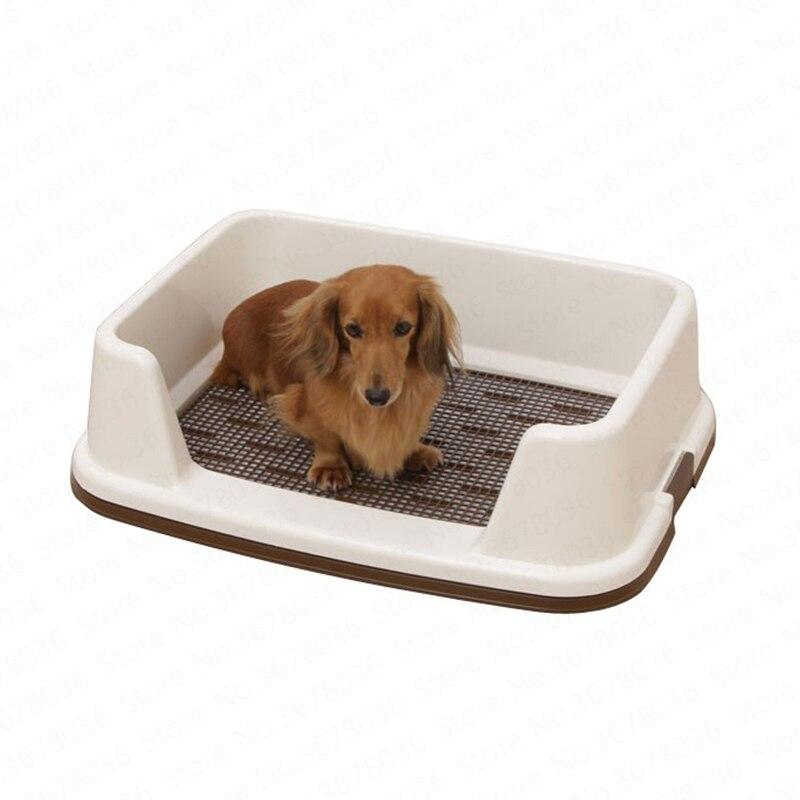 Clôture semi-fermée chien toilette maille Pet toilette caca pot prévention des éclaboussures Anti-rupture morsure chien produits
