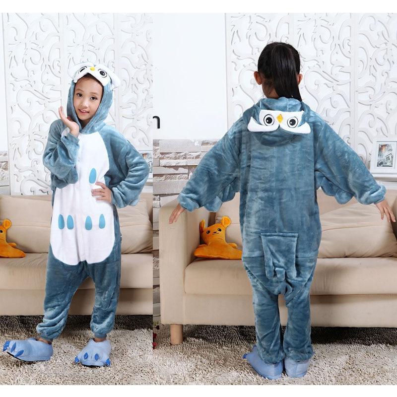 eb940e3a US $8.79 40% OFF|Little Bitty 2018 animal pijamas owl panda cat cow  elephant tiger dinosaur kigurumi children boys girls kids pajamas  nightwear-in ...