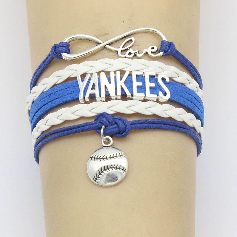 Yankees Baseball Bracelet Handmade