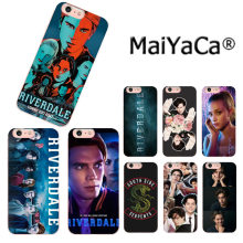 MaiYaCa Hot TV show Riverdale Adorable Newest Fashion Luxury phone case for iphone 11 pro 8 7 66S Plus X 5S SE XR XS XS MAX(China)