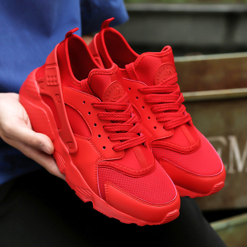 Casuales Up Lace Black Malla red Moda Homme Ceyue Sneaketers De Chaussure Hombres Transpirable Superstar white 2017 Ligeros Zapatos vZIwfPnxYq