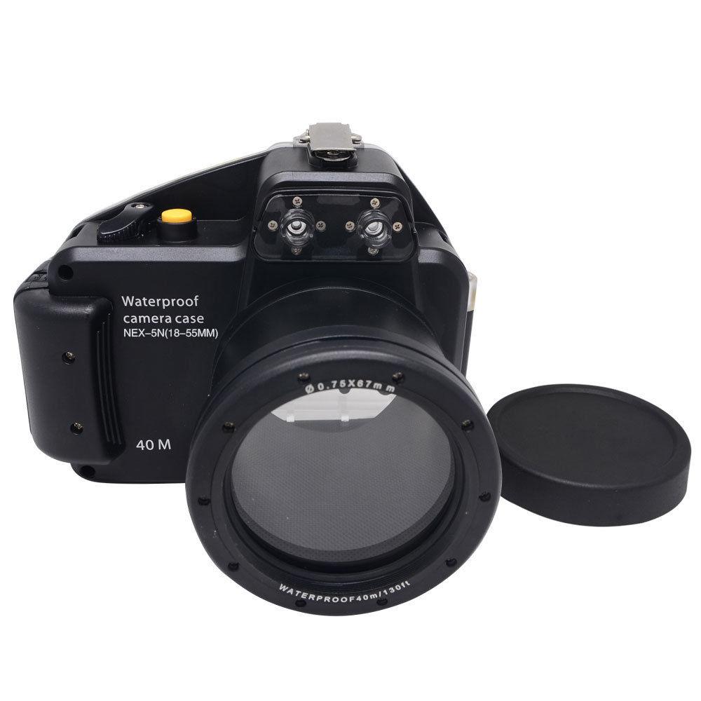 Waterproof Underwater Housing Camera Housing Case for Sony Nex 5N nex-5N 18-55mm Lens перманентное окрашивание matrix натуральные оттенки socolor beauty neutral 5n цвет 5n светлый шатен variant hex name 524439